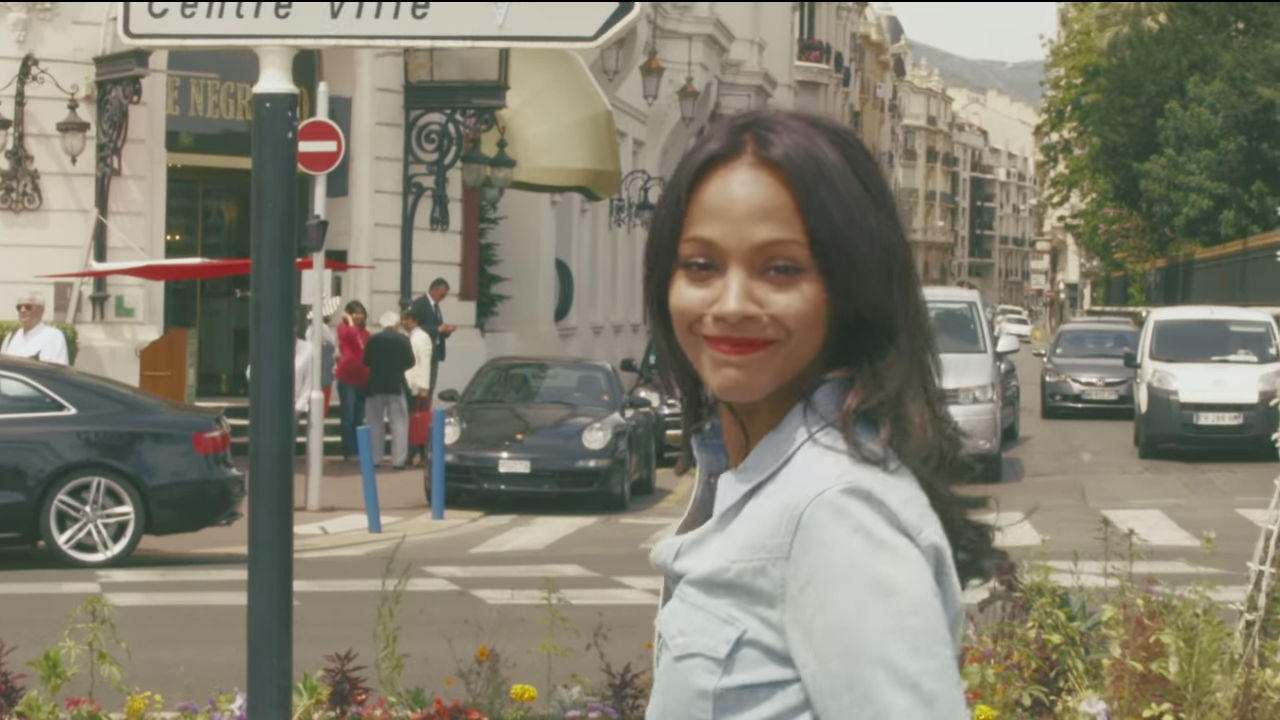 ZoeSaldana_A Nice Dream_screenshot