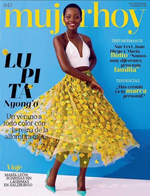 Lupita-Nyongo-MujerHoy-June-2015