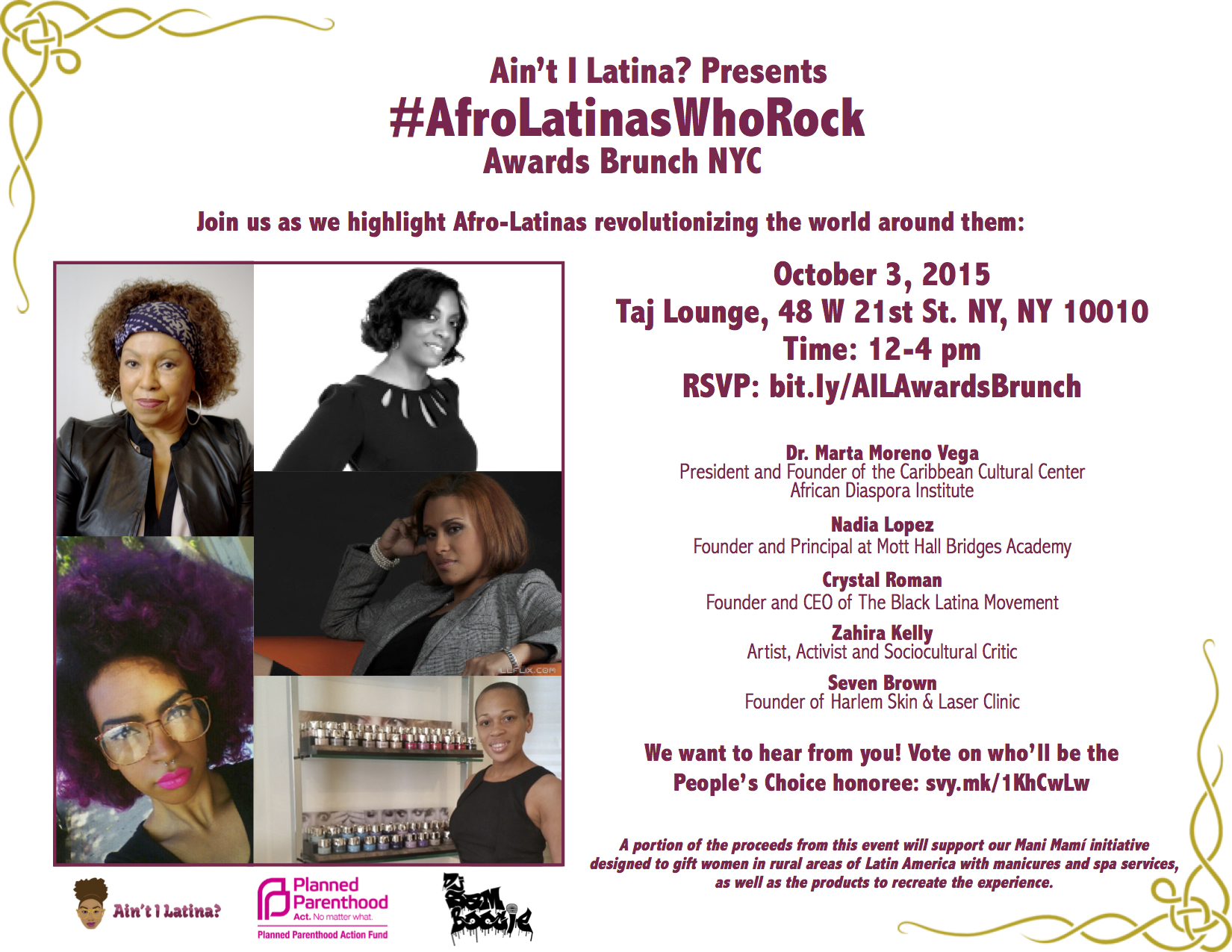 Afro-Latinas-Who-Rock-Awards-Brunch