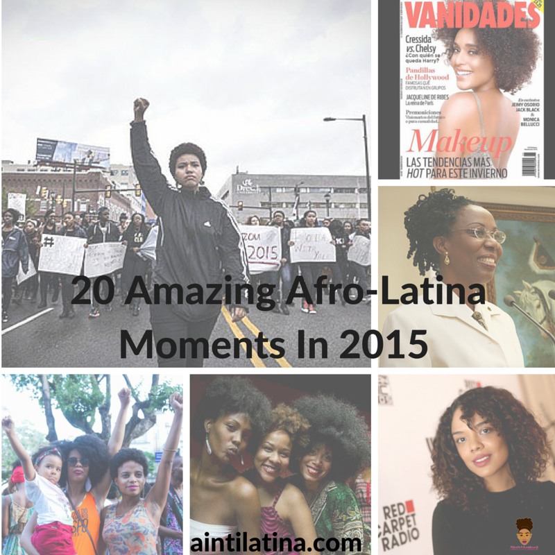 20 Amazing Afro-Latina Moments in 2015